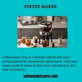 coffeemakersavvy